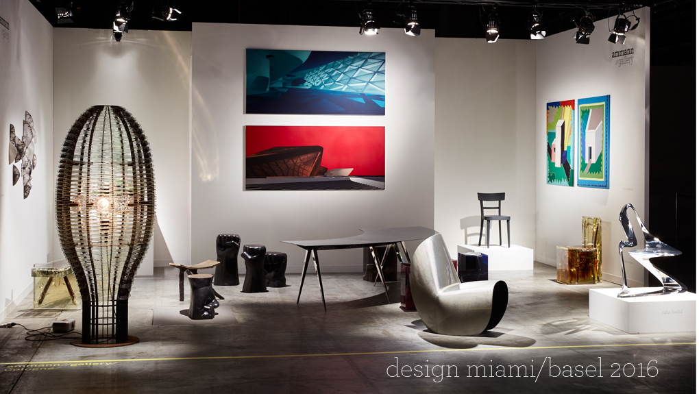 ammann//gallery design miami/basel 2016