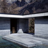 Hélène Binet - Therme Vals 02 (Architecture by Peter Zumthor), courtesy ammann//gallery