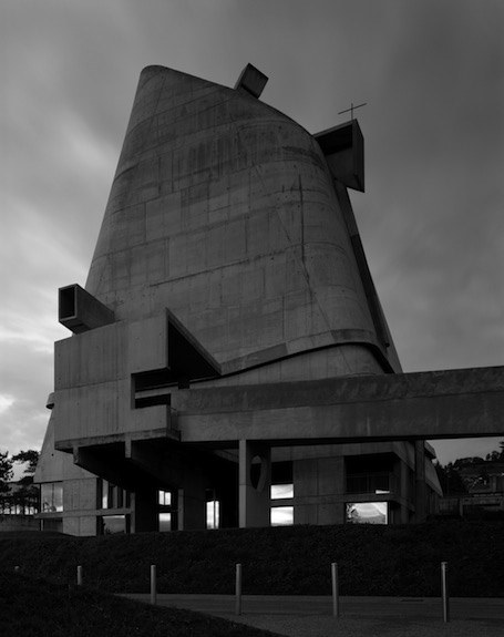 hélène binet 'firminy D' (architecture by le corbusier), courtesy ammann//gallery