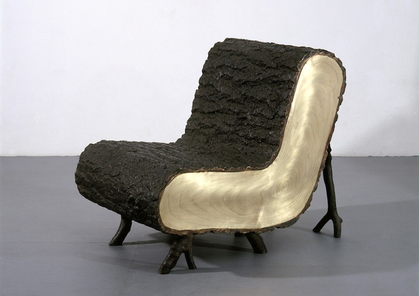 wolfs + jung 'Tree Trunk chair' ammann//gallery