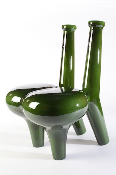 Pakhale flower offering chair represented by ammann//gallery
