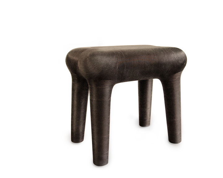 Satyendra Pakhalé bm hi horse table dark represented by ammann//gallery