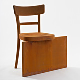Rolf Sachs no rest for the rust chair represented by ammann//gallery