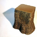 wolfs + jung 'square tree trunk stool ll' ammann//gallery