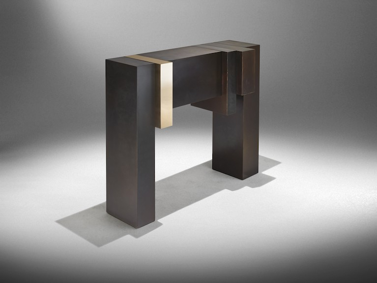 nucleo bronze age consolle exclusive for ammann gallery