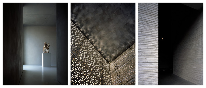 Hélène Binet - Kolumba Triptychon (Architecture by Peter Zumthor), courtesy ammann//gallery