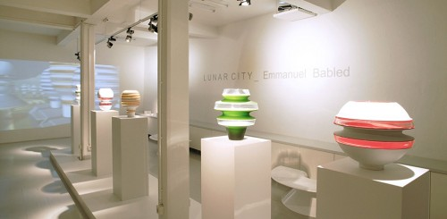 'Emmanuel Babled – LUNAR_City' at ammann//gallery