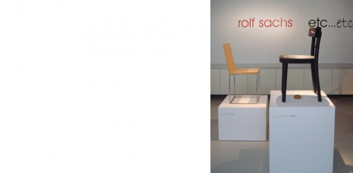 Rolf Sachs – etc... etc... at ammann//gallery