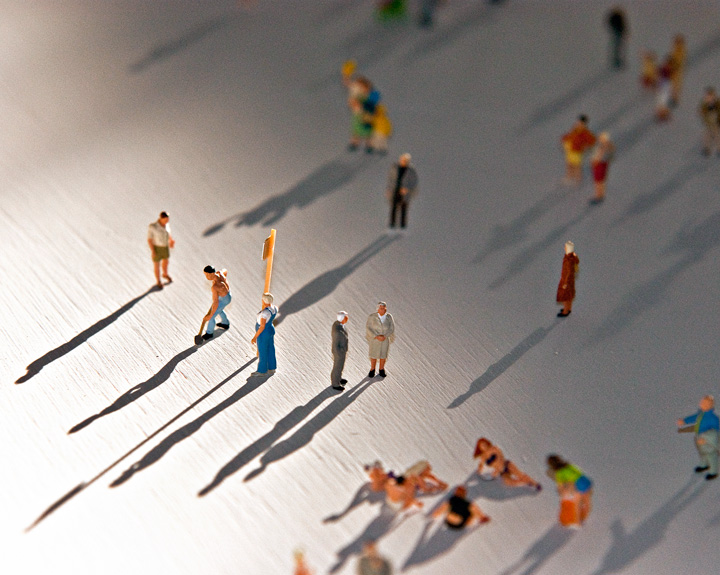 Rolf Sachs Alone in a Crowd represented by ammann//gallery