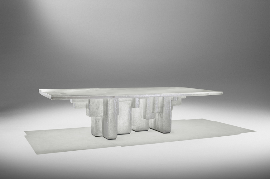 Studio Nucleo Resin Fossil Table 2014 exclusive for ammann//gallery