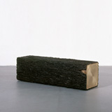 wolfs+jung 'square tree trunk bench ll' ammann//gallery