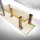 studio nucleo Wood Fossil Table 01 exclusive for ammann//gallery