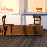Rolf Sachs no rest for the rust bench represented by ammann//gallery